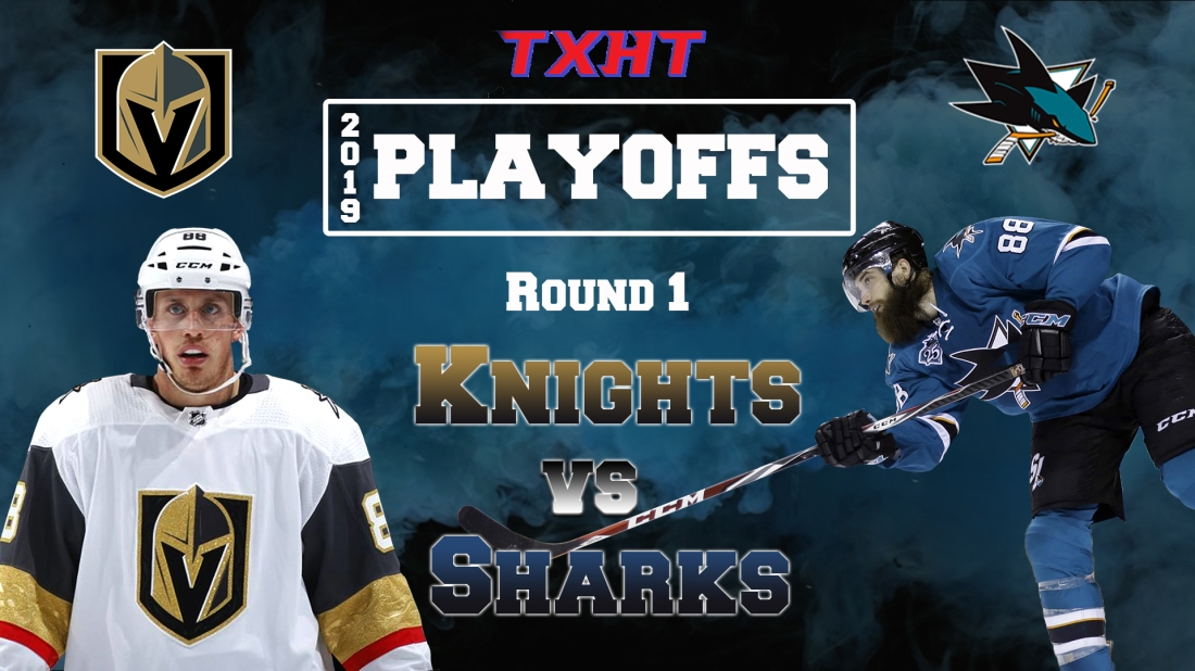 Round1-VGK vs SJ -Preview
