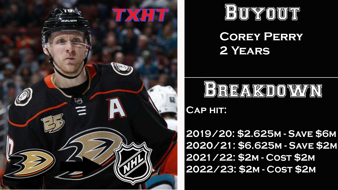 Corey Perry Buyout