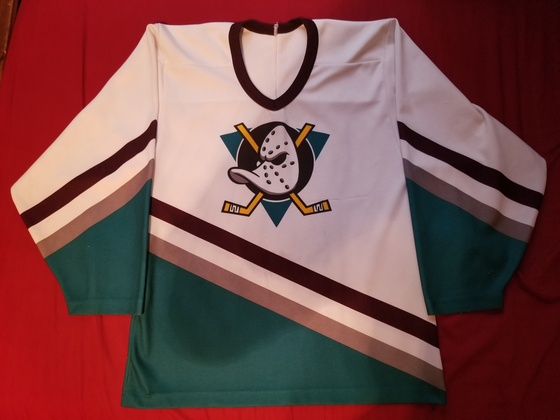 Mighty Ducks Home White 1996 Youth