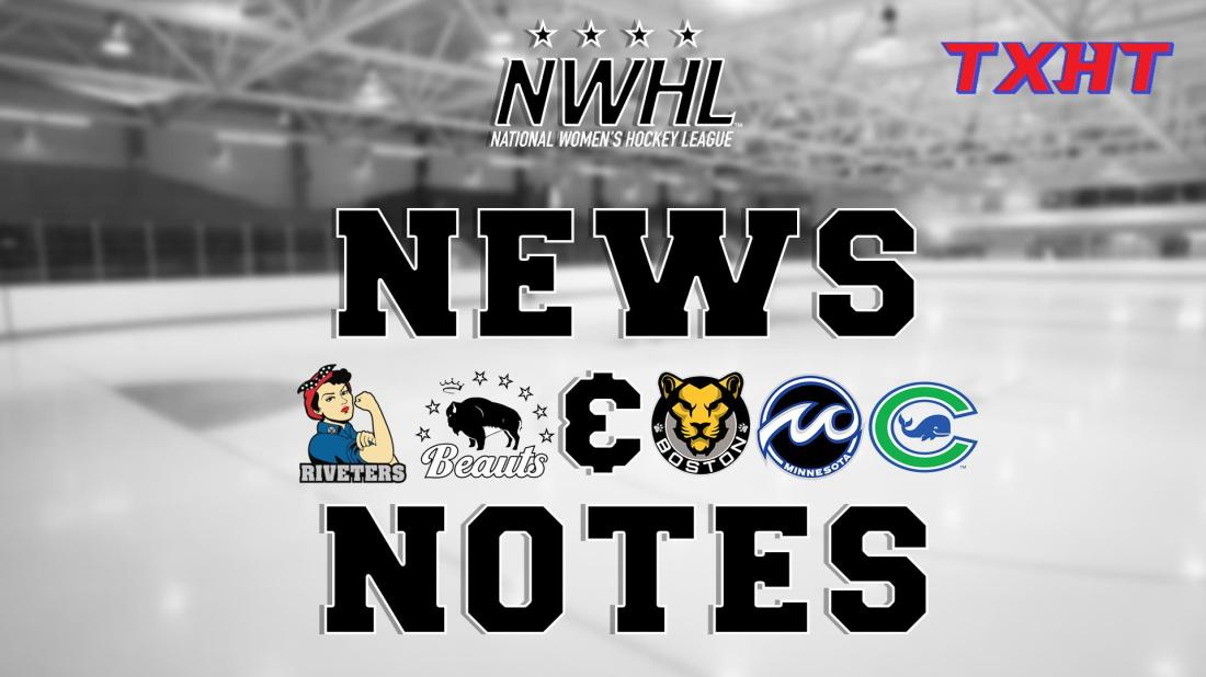 NWHL News and Notes 2