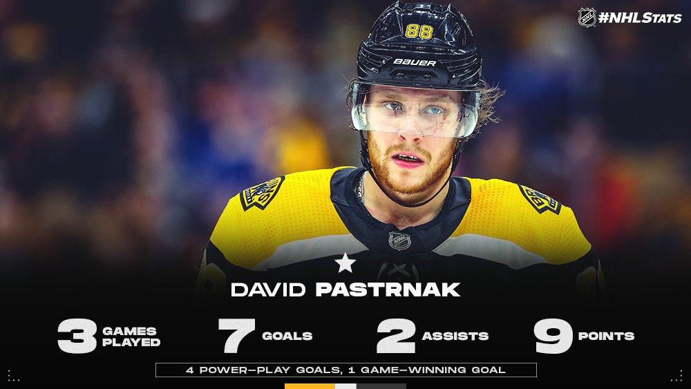 1 David Pastrnak