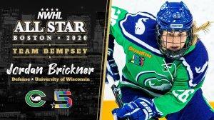 NWHL ASG Jordan Brickner