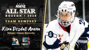 NWHL ASG Kiira Dosdall-Arena
